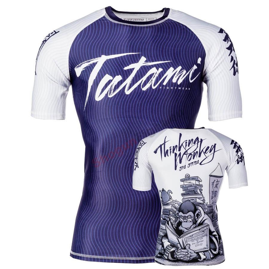 TATAMI Fightwear Thinker monkey rövid rashguard