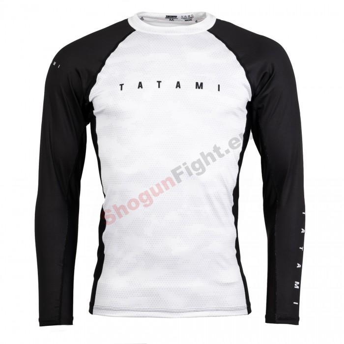 TATAMI Fightwear STANDARD EDITION Rashguard, White digital camo