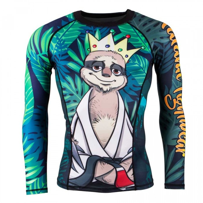 TATAMI Fightwear KING SLOTH Rashguard