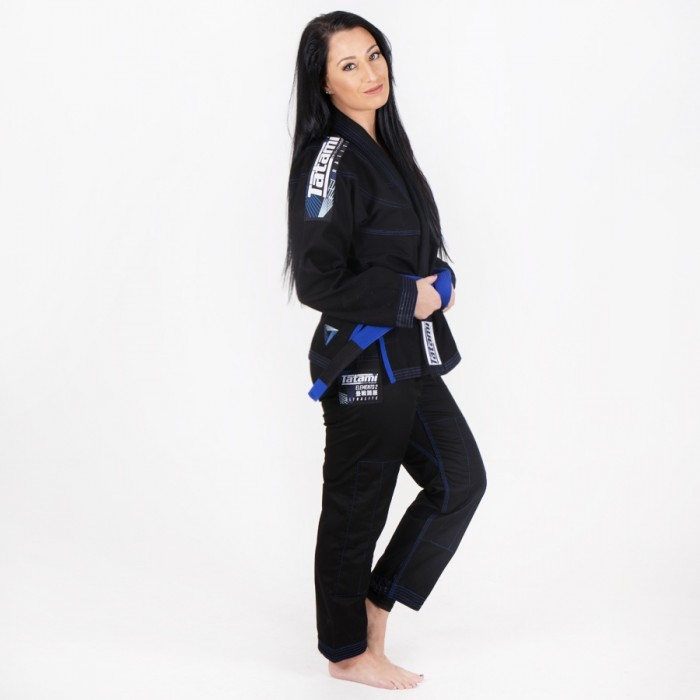 TATAMI Fightwear ELEMENTS ULTRALITE 2.0 Női BJJ Gi, Fekete