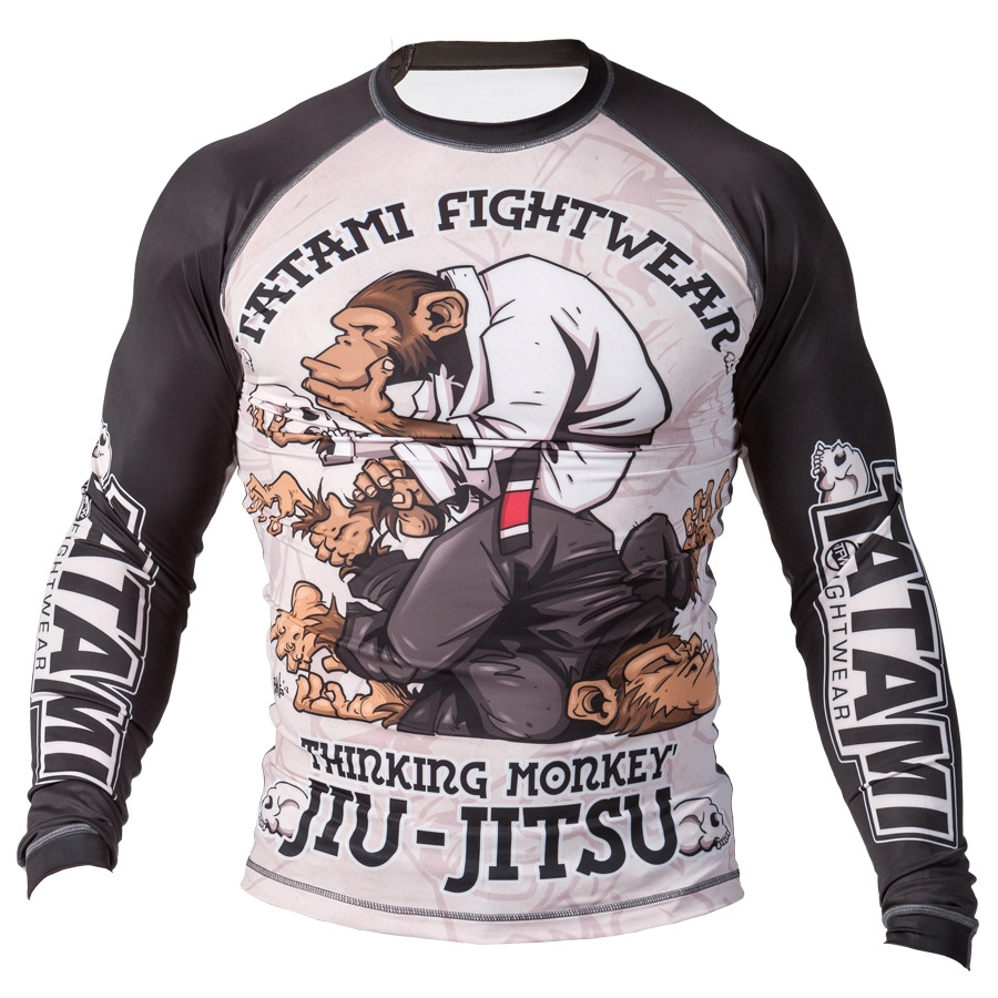 TATAMI Fightwear Thinker Monkey rashguard