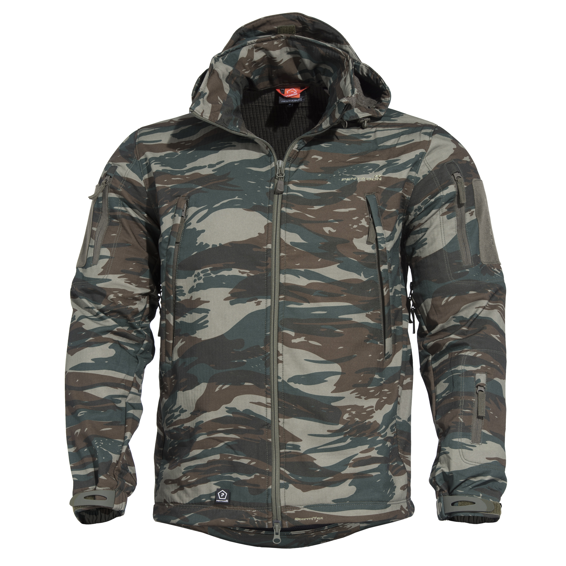 PENTAGON Artaxes softshell kabát, Greek Camo