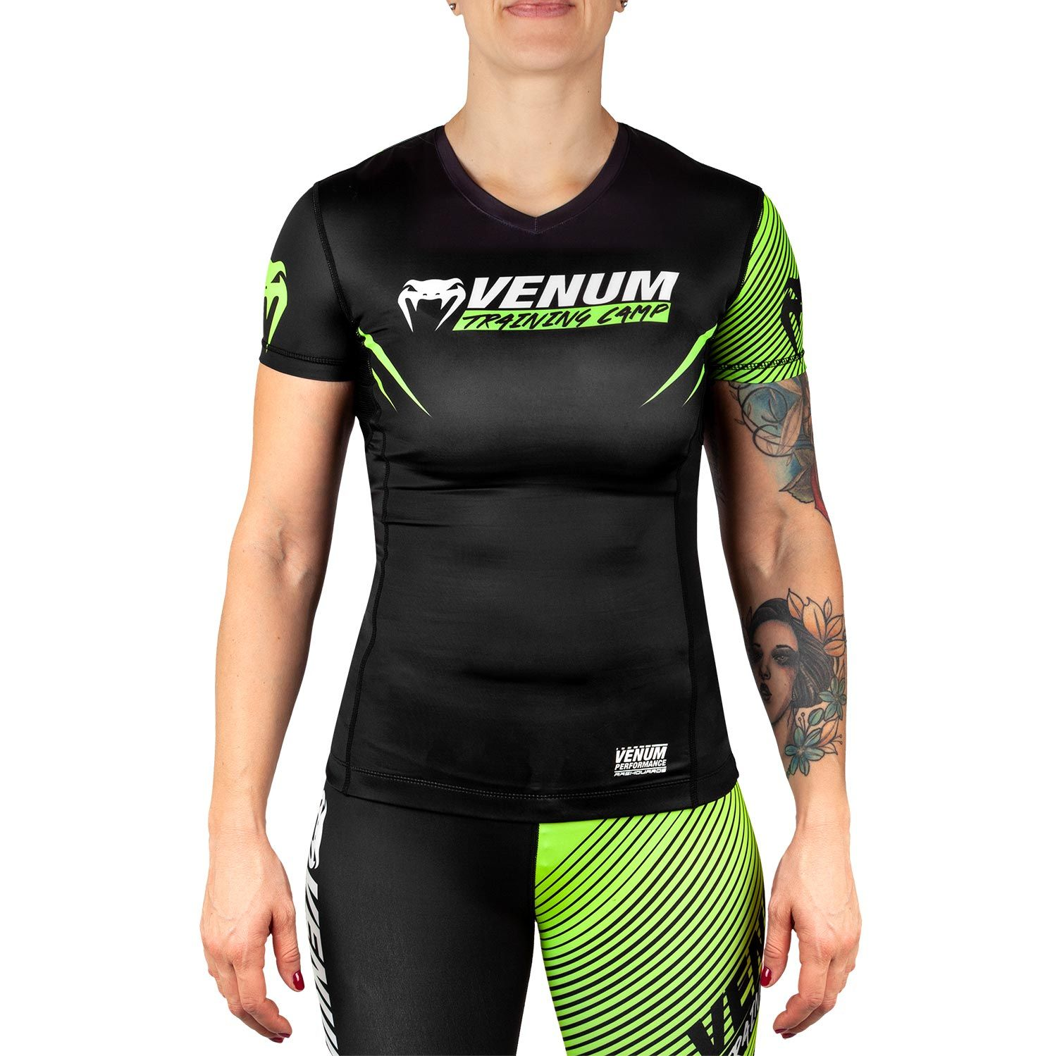 VENUM TRAINING CAMP 2.0 Rövid ujjú rashguard