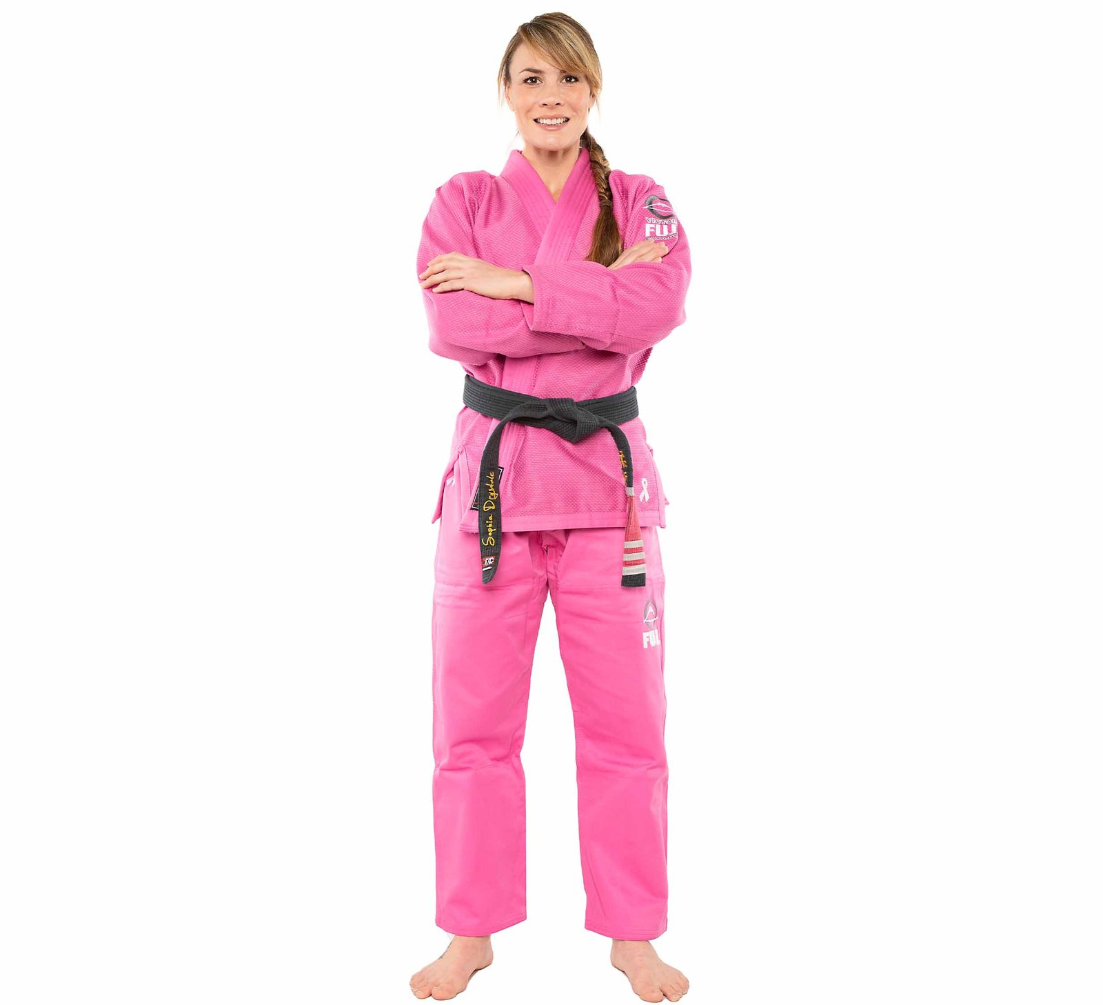 FUJI Sports ALL AROUND BJJ Női Gi, Pink