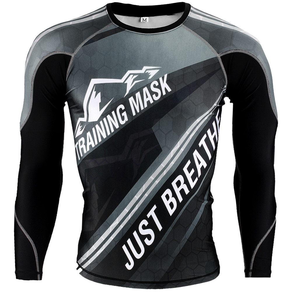 Training Mask Rashguard, Fekete