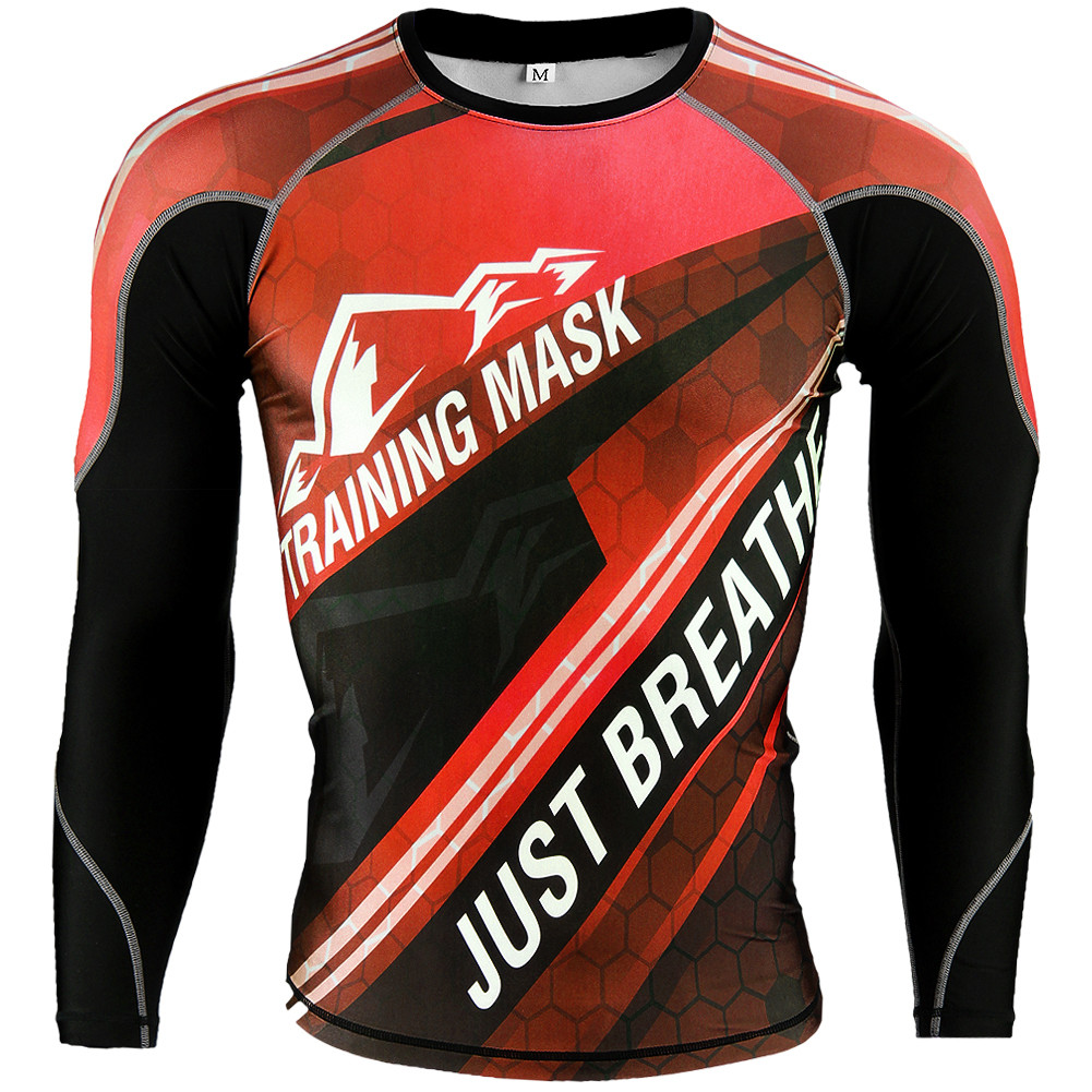 Training Mask Rashguard, Piros